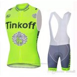 2019 Gilet Coupe-vent Tinkoff Vert