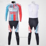 2011 Maillot Cyclisme Omega Pharma Lotto Manches Longues et Cuissard Beige Manches Courtes et Cuissard