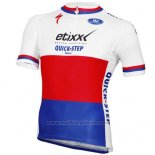 2015 Maillot Cyclisme UCI Monde Champion Lider Quick Step Manches Courtes et Cuissard