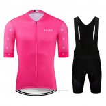 2020 Maillot Cyclisme NDLSS Rose Manches Courtes et Cuissard
