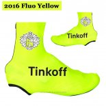 2016 Saxo Bank Tinkoff Couver Chaussure Ciclismo Jaune