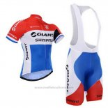 2015 Maillot Cyclisme Giant Shimano Manches Courtes et Cuissard