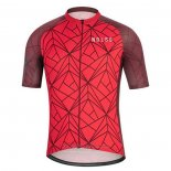 2020 Maillot Cyclisme NDLSS Profond Rouge Manches Courtes et Cuissard
